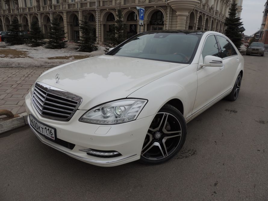 Аренда авто Mercedes S, цена за 1 час