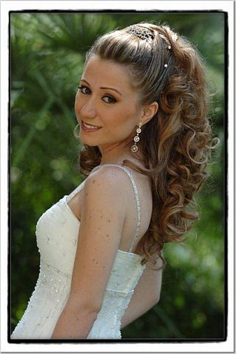Фото прическа на свадьбу для гостьи