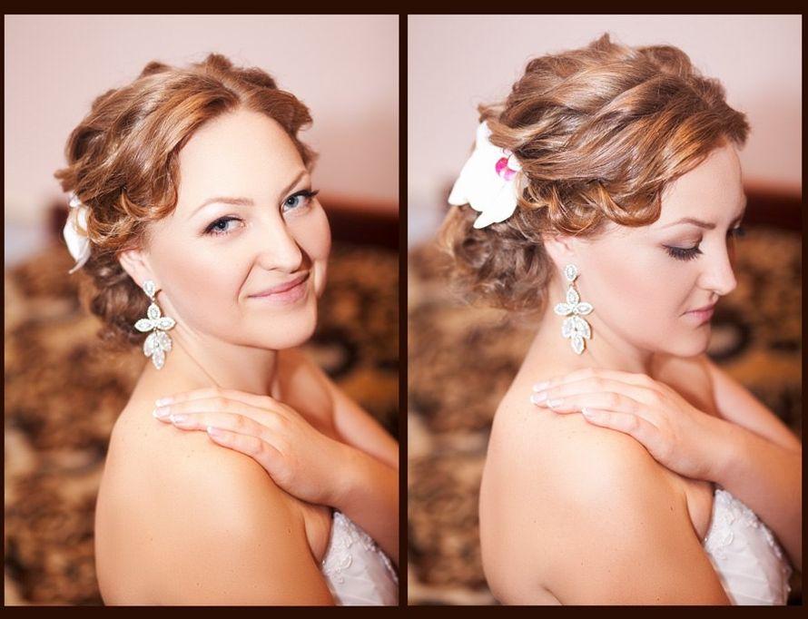 Свадебный выпускной макияж визаж прическа в Симферополе - фото 2211532 Оксана Негру - стилист-визажист