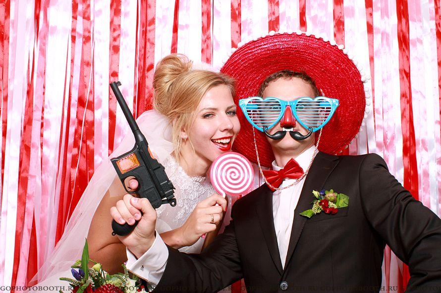 фотокабина на свадьбу мышка