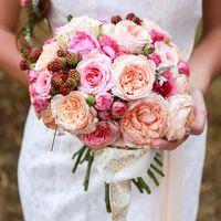 Букет невесты создан ручками наших флористов. Art Group Moskva