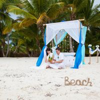 Церемония на белоснежном пляже