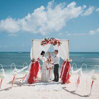 Свадьба в стиле Фламенко в Доминикане