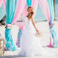 Свадьба на пляже Хуанийо в Доминикане