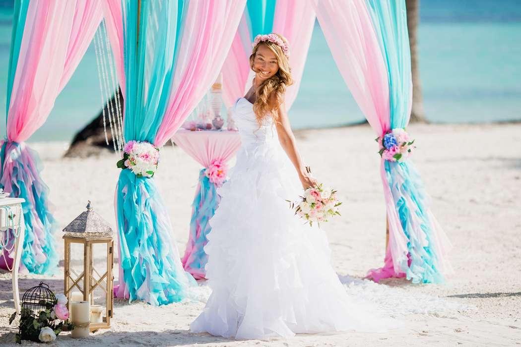Свадьба на пляже Хуанийо в Доминикане  - фото 17058638 Свадебное агентство GrandLoveWedding в Доминикане