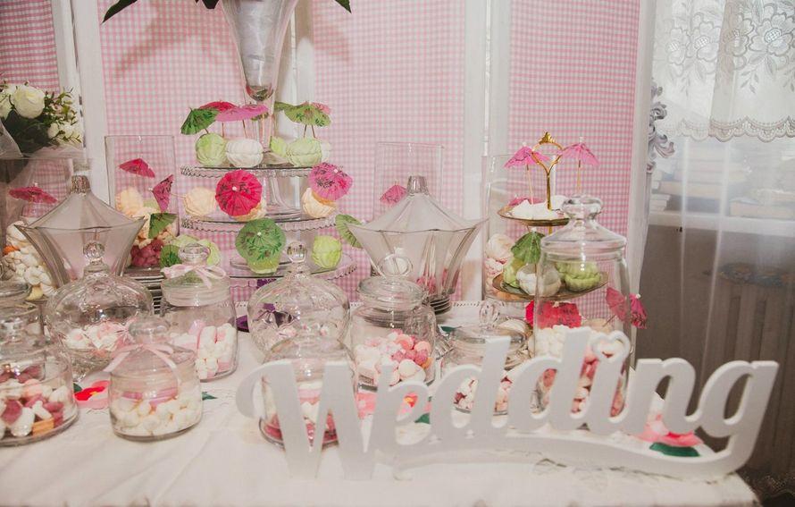 """Фото 2260896 в коллекции Сandy bar( сладкий стол) - Студия свадебного декора """"Антураж"""""""