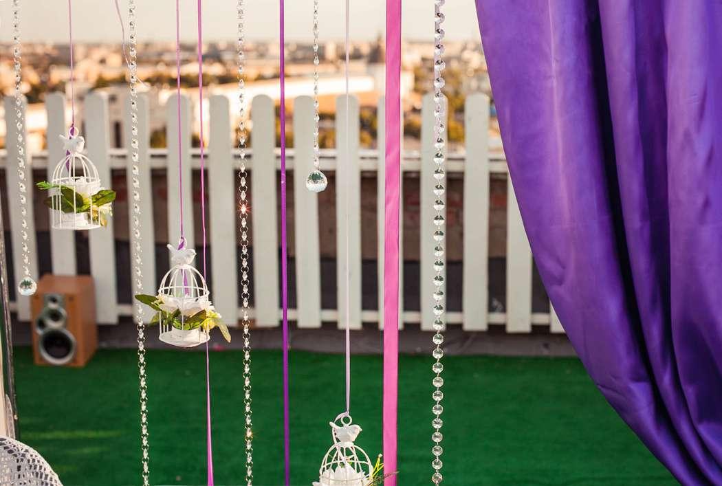 """съемки для программы 13этаж стс-Астрахань.оформляли фотозону и являлись участниками!) - фото 2644317 Студия свадебного декора """"Антураж"""""""