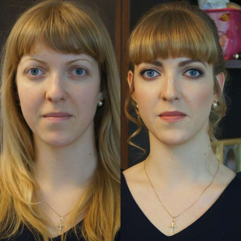 до и после - фото 5188603 Стилист-визажист Катрина Петренко