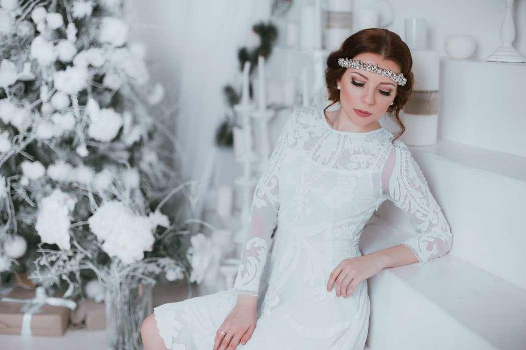 Невеста, блондинка, свадьба, утро невесты - фото 5695617 Стилист-визажист Катрина Петренко