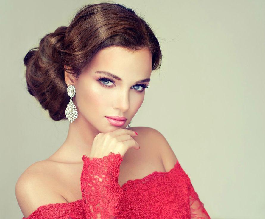 брюнетка, свежий макияж, розовые тона, есстественный - фото 10172896 Стилист-визажист Катрина Петренко