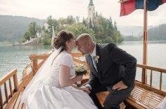 Фото 5387511 в коллекции Бело-голубая свадьба на Небесной террасе - Агентство Интерус - свадьбы в Словении