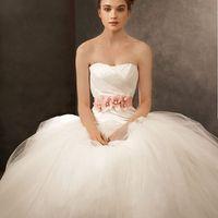 Очень пышное свадебное платье фото
