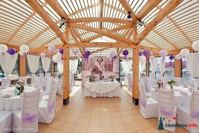 Украсить веранду на свадьбу