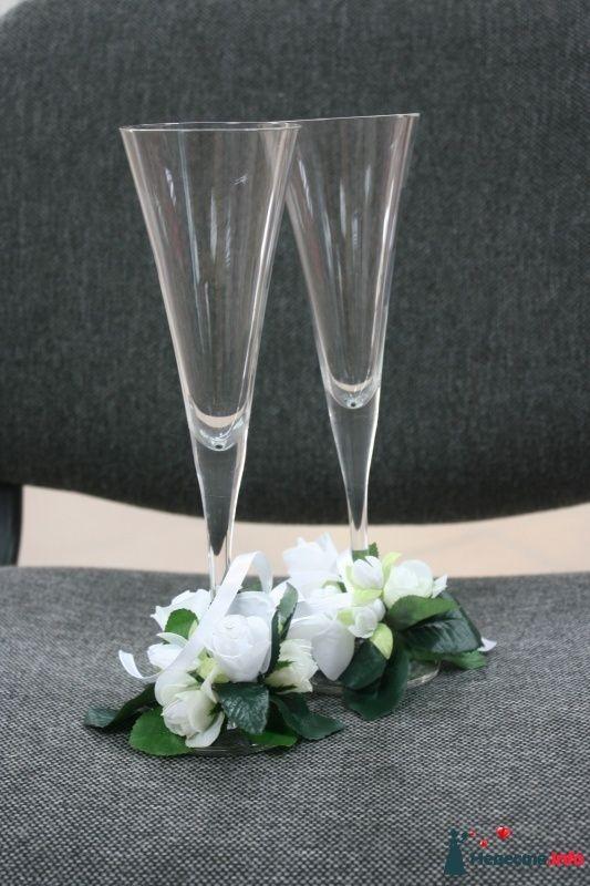 """Фото 268637 в коллекции Свадебные бокалы ручной работы - Агенство """"Свадебный кортеж"""""""