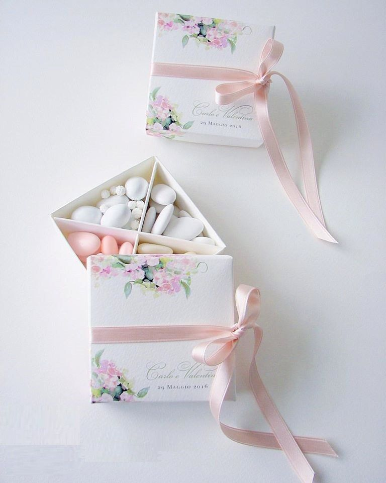Нежные бонбоньерки на свадьбу - фото 10698856 Italia Viaggi - организация свадеб