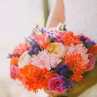 Букет и венок для невесты. Работа нашего флориста