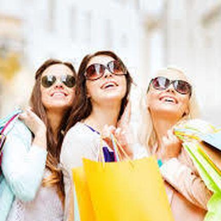 Девичник в торговом центре Light shopping на 6 человек