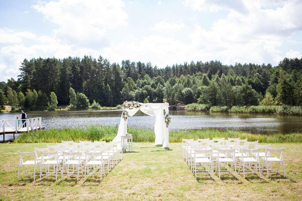 Декор свадебной церемонии - фото 16389898 Флорист Наталья Жукова
