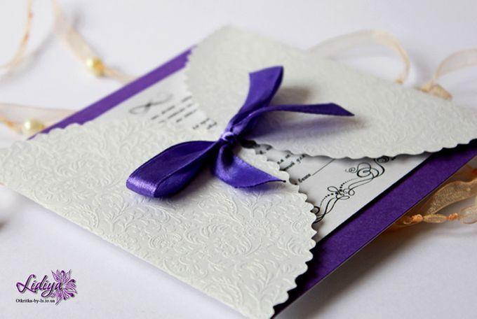 Из чего сделать приглашение на свадьбу своими руками 848