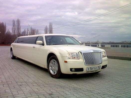 Крайслер 300С ivory colors - фото 2349620 Лимузин Сервис - автомобили на свадьбу