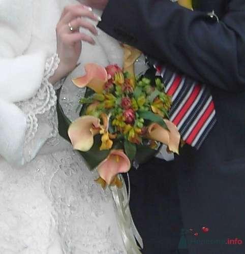 Невеста с букетом из калл - фото 1443 moonwoman