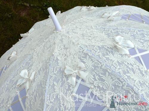 Кружевной зонт - фото 38735 «Настя Рай» - платья, аксессуары, цветы и декор
