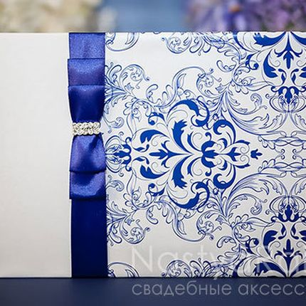 Свадебная книга для пожеланий фарфор