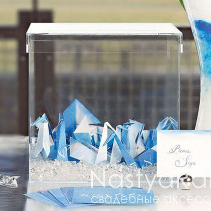 Прозрачный куб  пожеланий и подарков