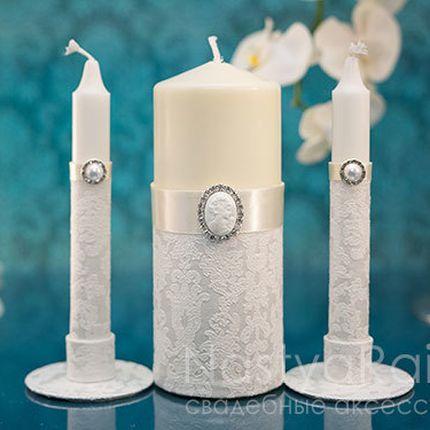 Свадебные свечи империя