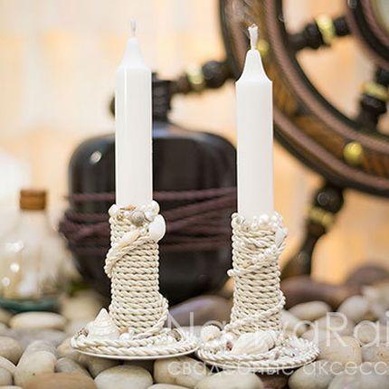 "Тонкая свеча ""Море"""