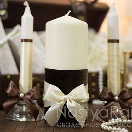 Набор свечей бархат