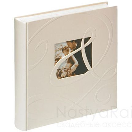 Свадебный фотоальбом с окошком