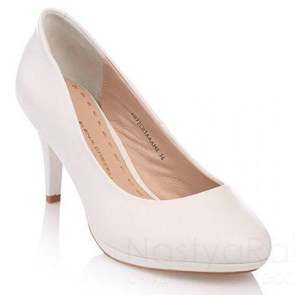 Туфли на платформе, высота каблука - 8см