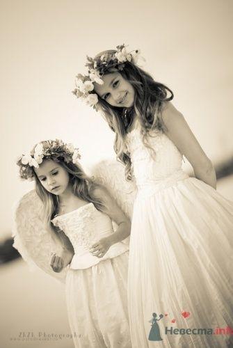 Образ детей на свадьбе в виде ангелов. - фото 479 Невеста01