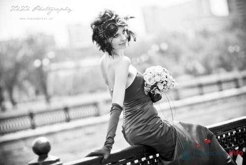 Образ невесты в карнавальной маске. - фото 895 Невеста01