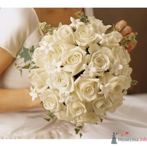 """Свадебный букет """"класика"""" - фото 400 Mallina Botanique - праздничное оформление"""