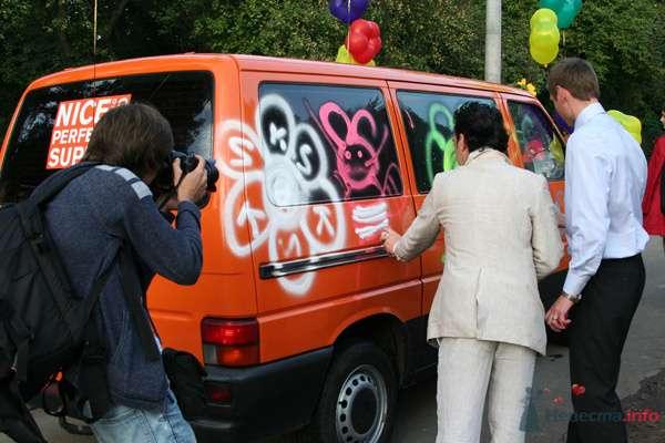 """оранжевое небо, оранжевое море... оранжевый автобус - фото 73428 Funday - свадебное агентство парка """"Сокольники"""""""