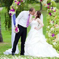 Классическая европейская свадьба