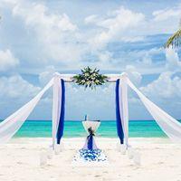 Шикарная арка для оформления выездной церемонии регистрации
