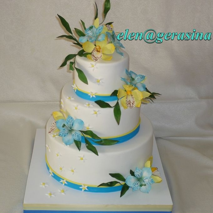 свадебные торты фото калуга