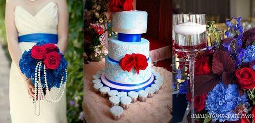 объявлений свадьба в белом красном синем цвете использовании книги