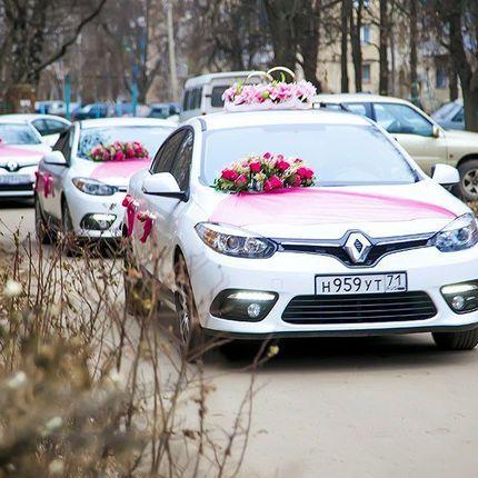 Свадебный кортеж Renault Fluence