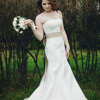 Ирина Фото: Сергей Фрейер Макияж и прическа невесты: Марина Усова