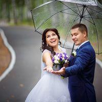 Макияж и прическа для невесты Юлии Фото: Алексей Фадеев