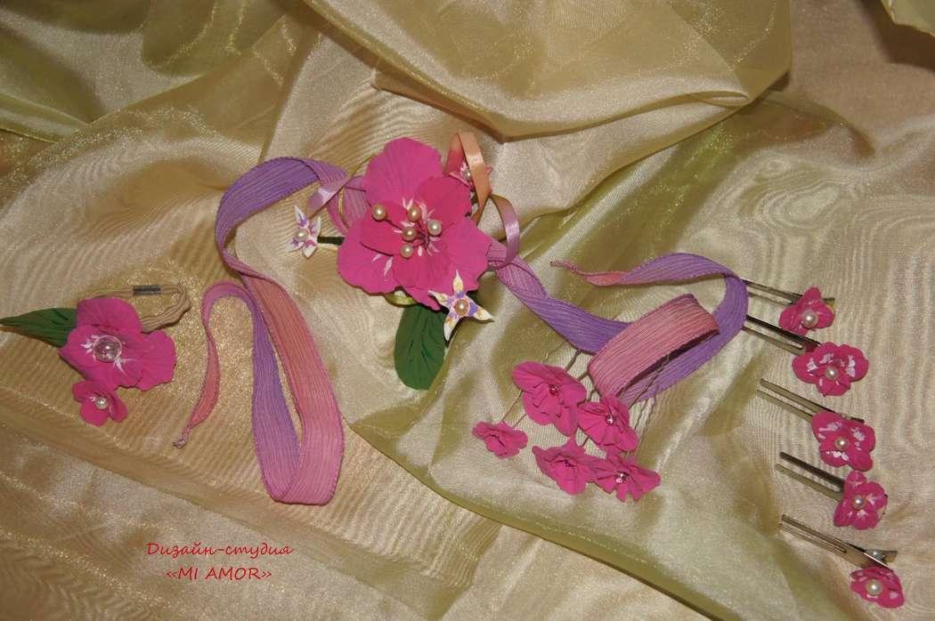 """украшения для прически невесты - фото 2435055 Дизайн-студия """"Mi Amor"""" - свадебные аксессуары"""