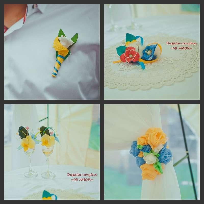 """Солнечное настроение - фото 2542947 Дизайн-студия """"Mi Amor"""" - свадебные аксессуары"""