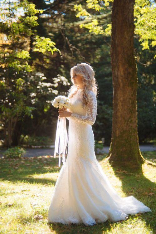 Прогулка невесты. #прическа #макияж