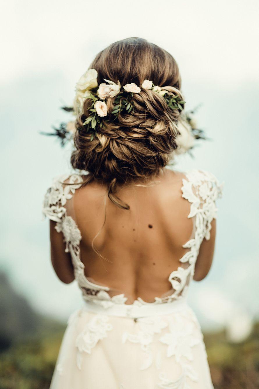 Прическа и макияж свадебные. Свадьба 2017. фотограф Мила Тихая. - фото 15970058 Парикмахер-визажист Аргунова Елена