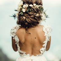 Прическа и макияж свадебные. Свадьба 2017. фотограф Мила Тихая.