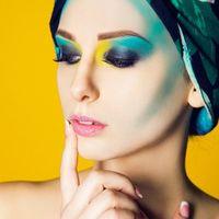 Креативный макияж, выполненный аэрографом. MUAH &Style Карина Алексеева Photo: Яна Духович